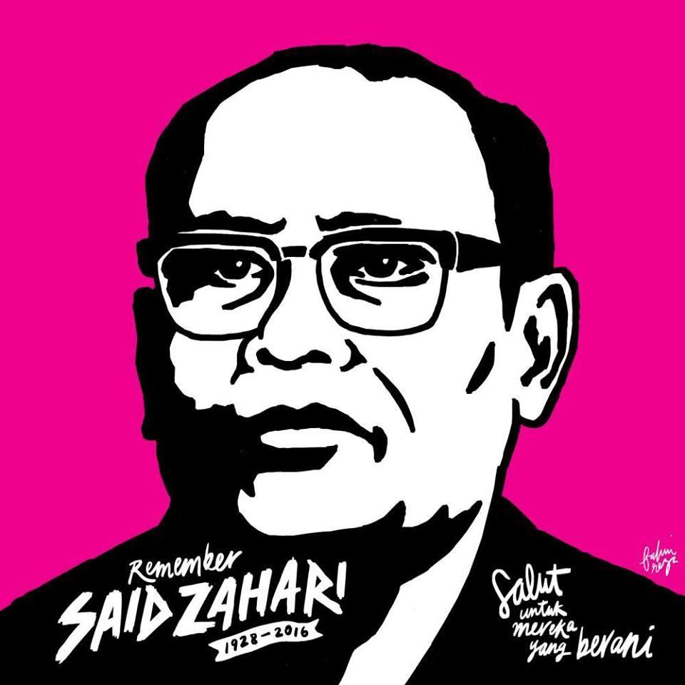 22 MAY: Majlis Memperingati Said Zahari