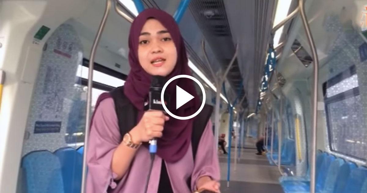 Naik MRT memang jimat tapi tidak ramai orang naik
