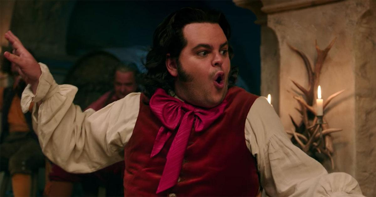 Nyanyian 'Gaston' oleh LeFou