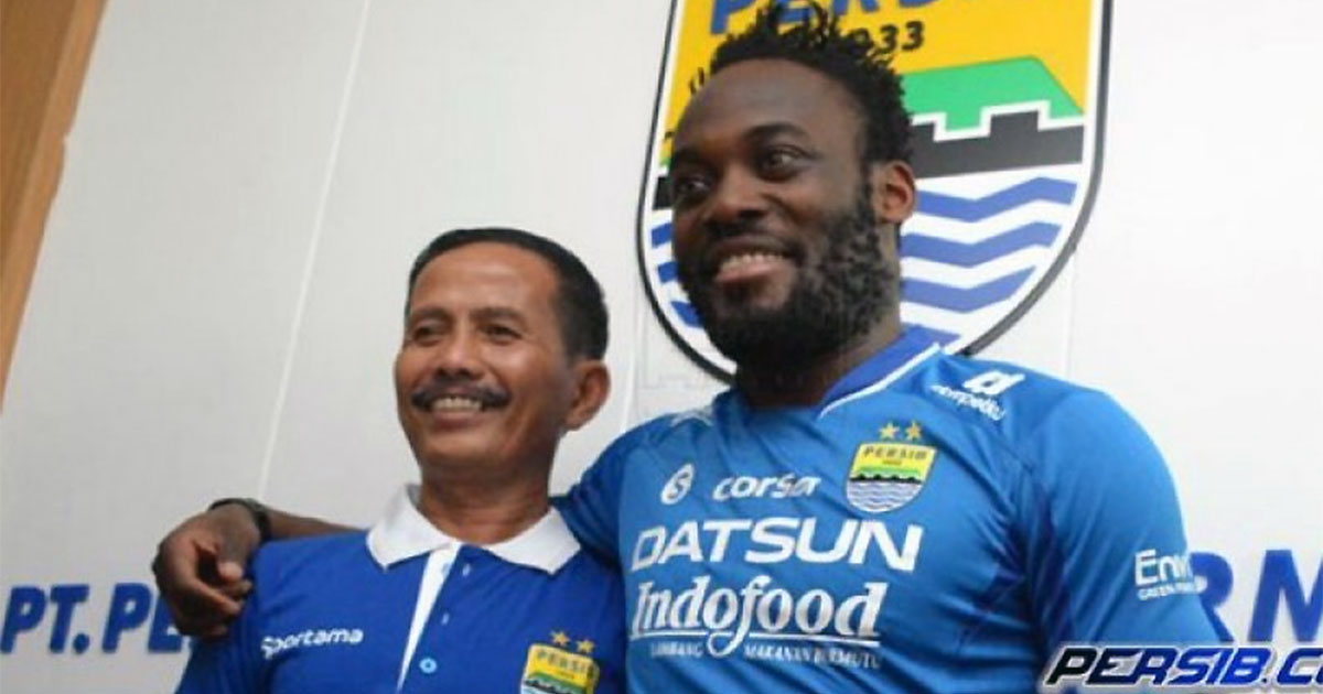 Bintang Chelsea pilih main di Persib Bandung