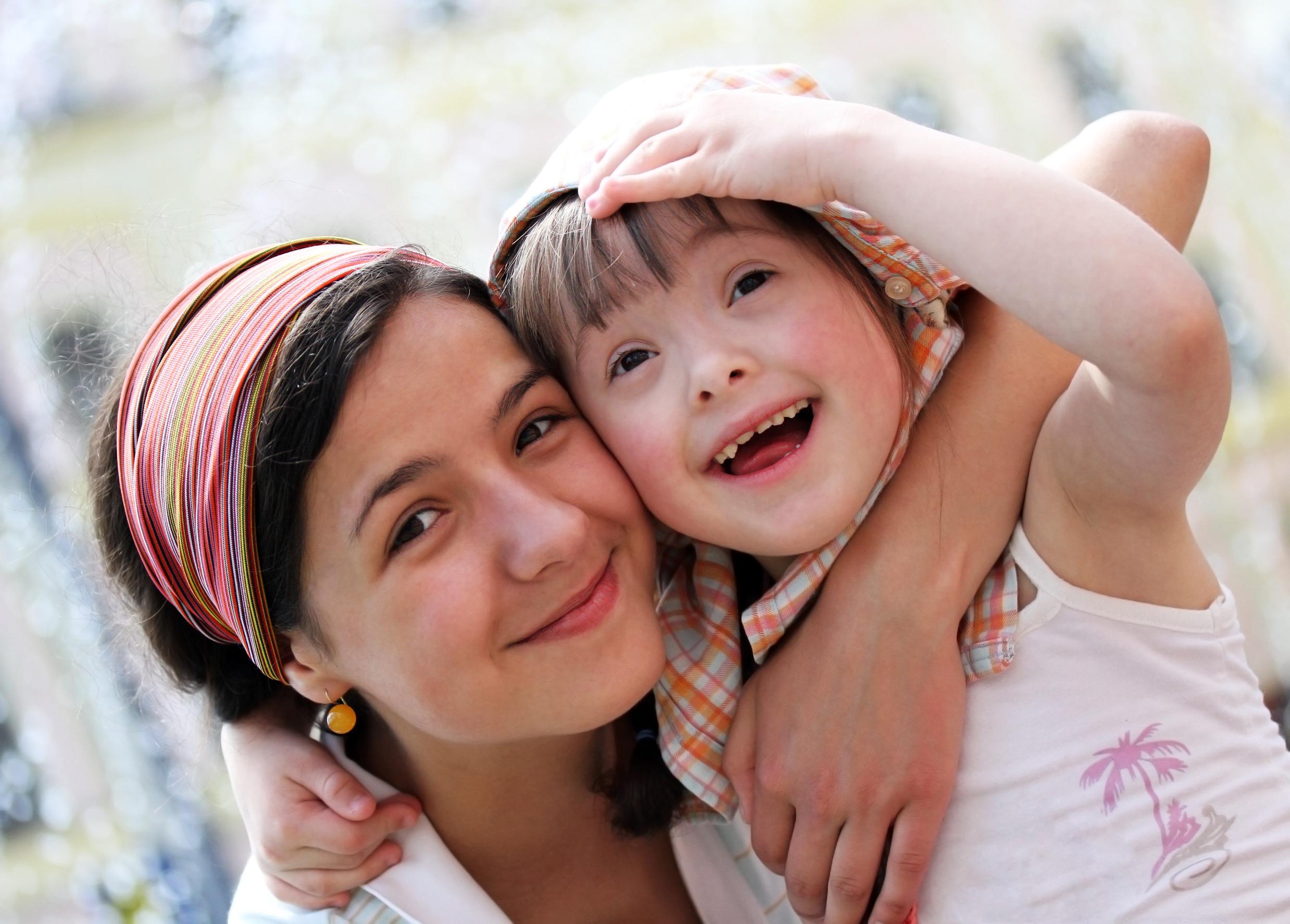 Membesarkan anak sindrom down