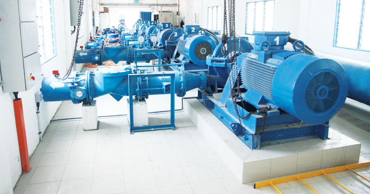 Membaik pulih fasiliti air untuk meningkatkan bekalan air simpanan kepada pelanggan