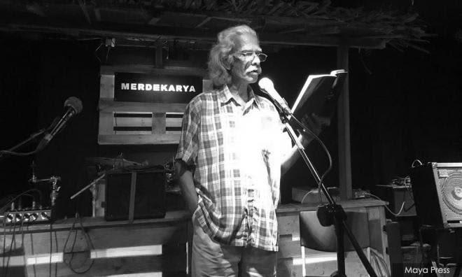 Sasterawan KS Maniam meninggal dunia pada usia 78 tahun