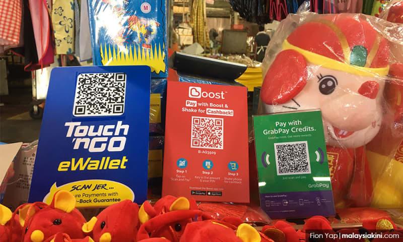 E-dompet: Aspirasi kerajaan ke arah warga tanpa tunai