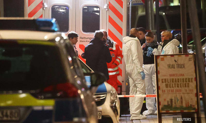 8 mati ditembak di Hanau, Jerman