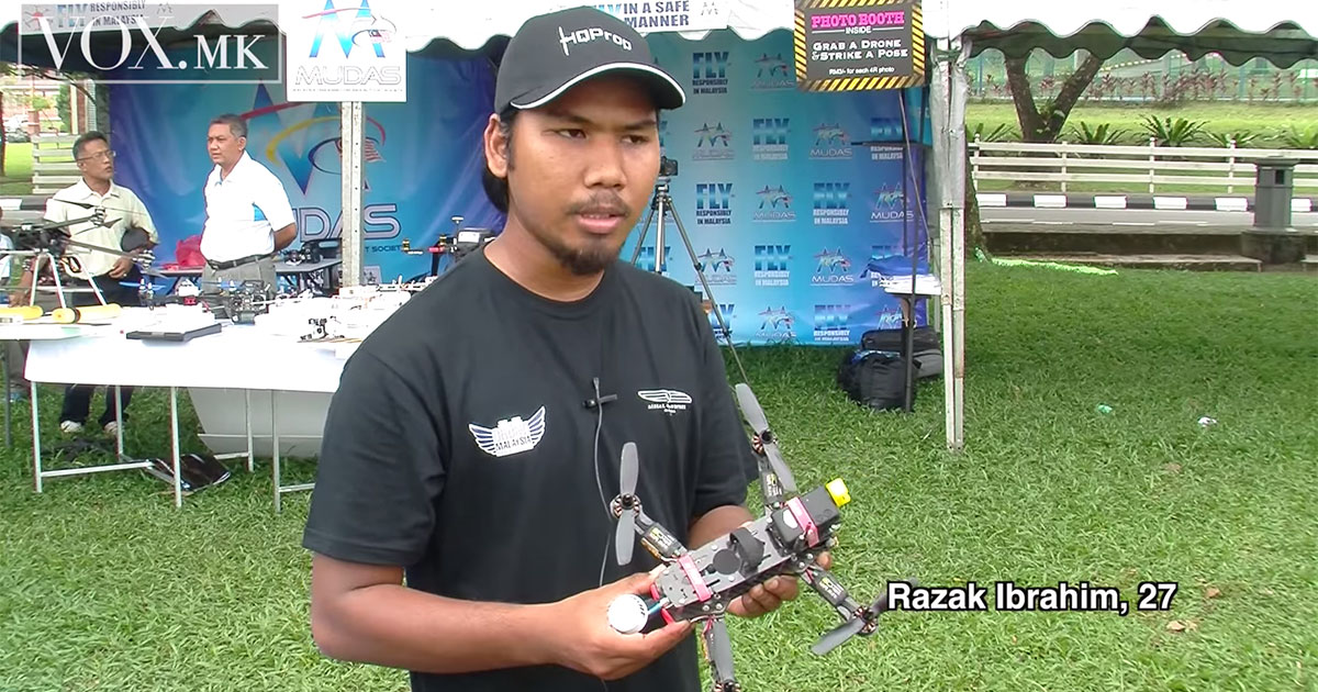 Malaysia's first international drone race takes off with a buzz