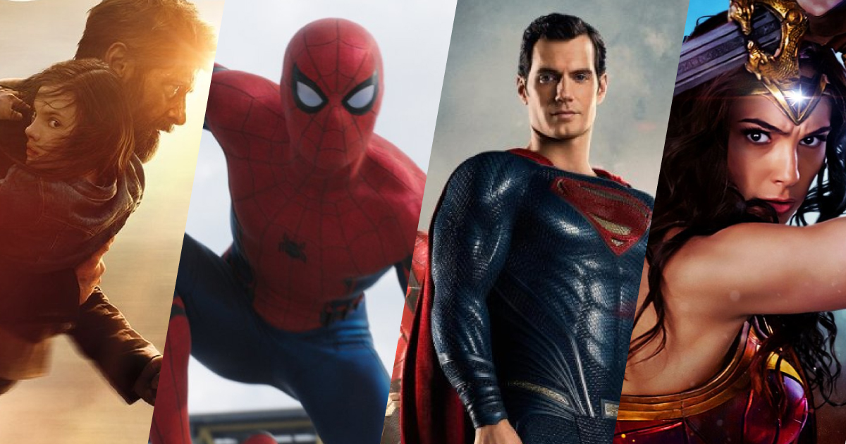 8 Superhero Movies in 2017 that you don't want to miss!