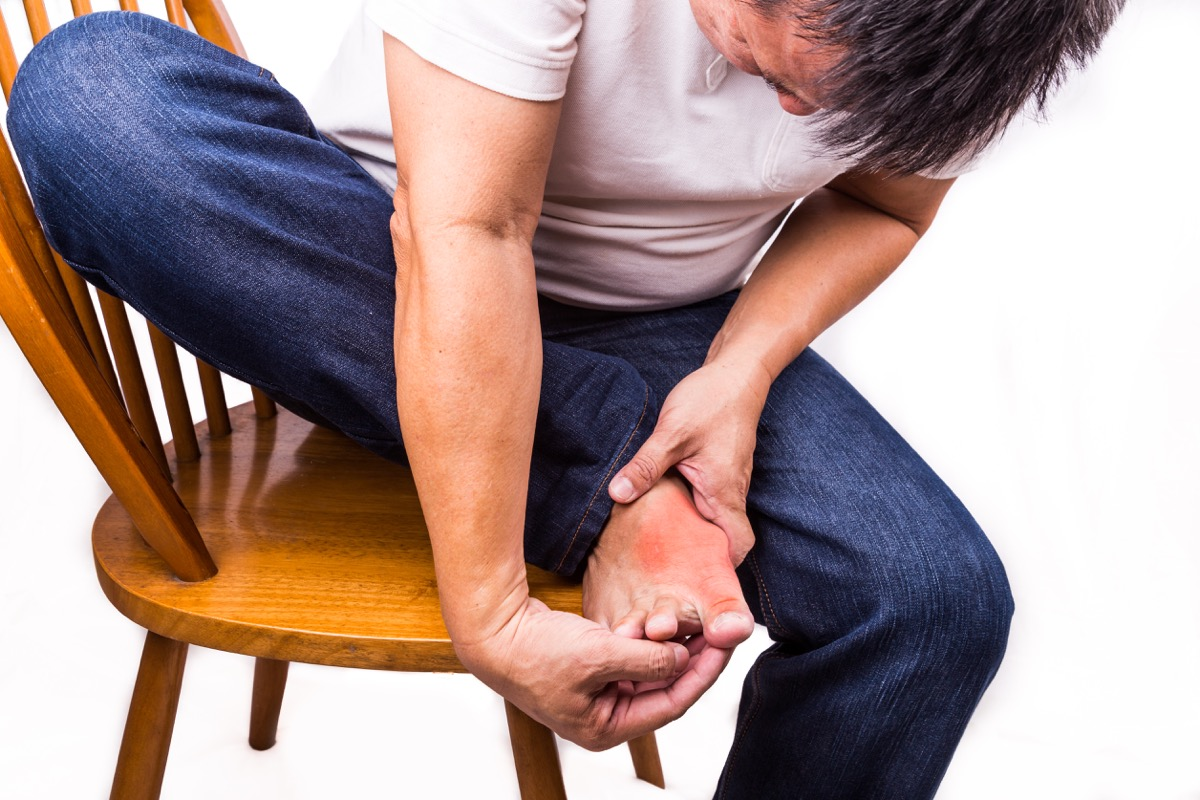 You could be suffering from gout too!