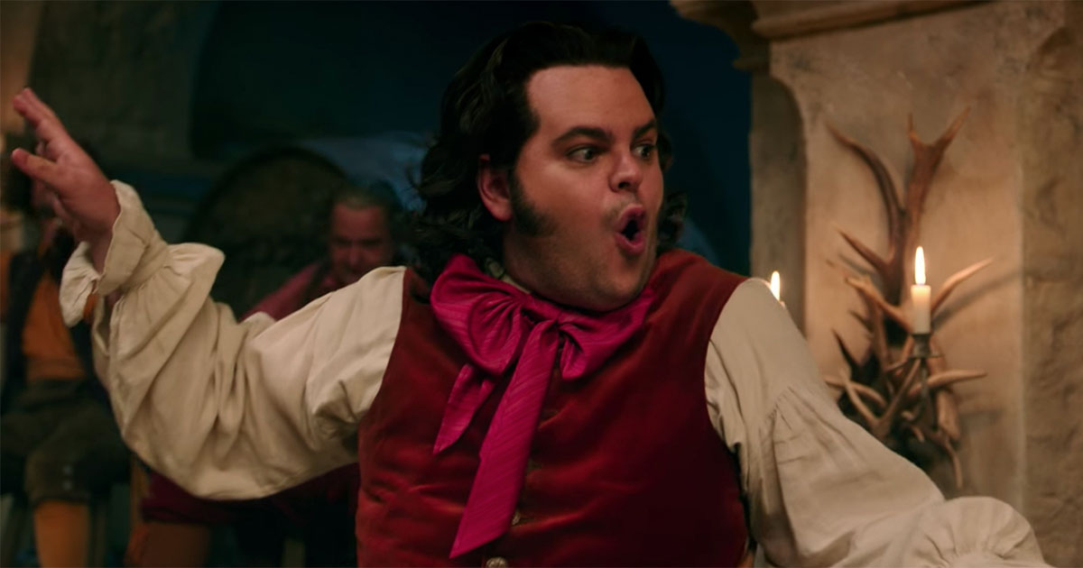 """Supposingly-gay"" LeFou on ""Gaston"" Clip"