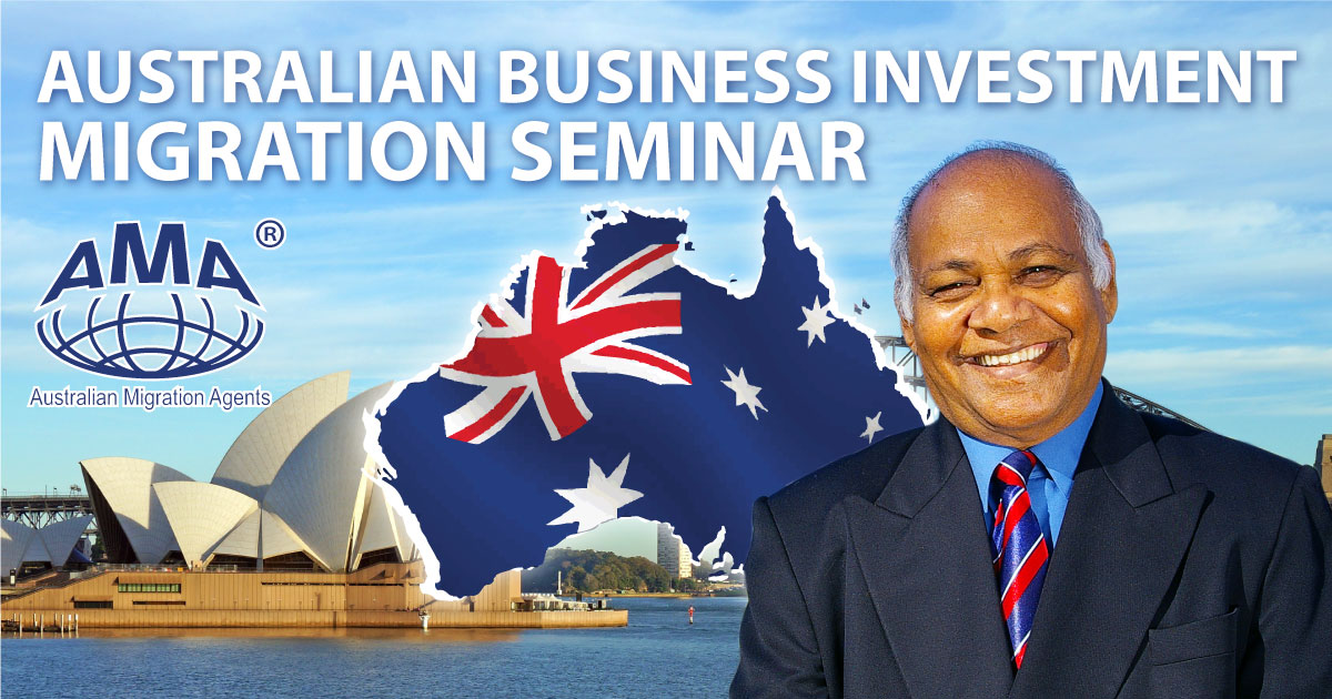 Australian Business Investment Migration Seminar