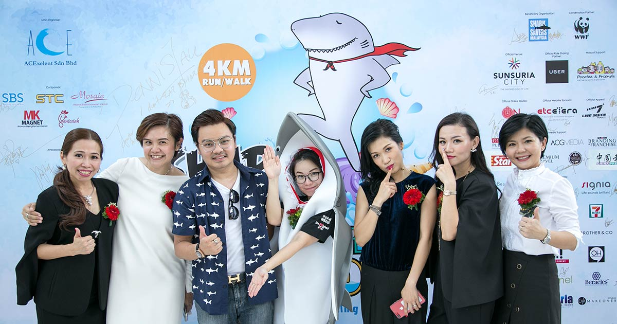Shark Hero Conservation Run 2017 & Pledge Signing Ceremony