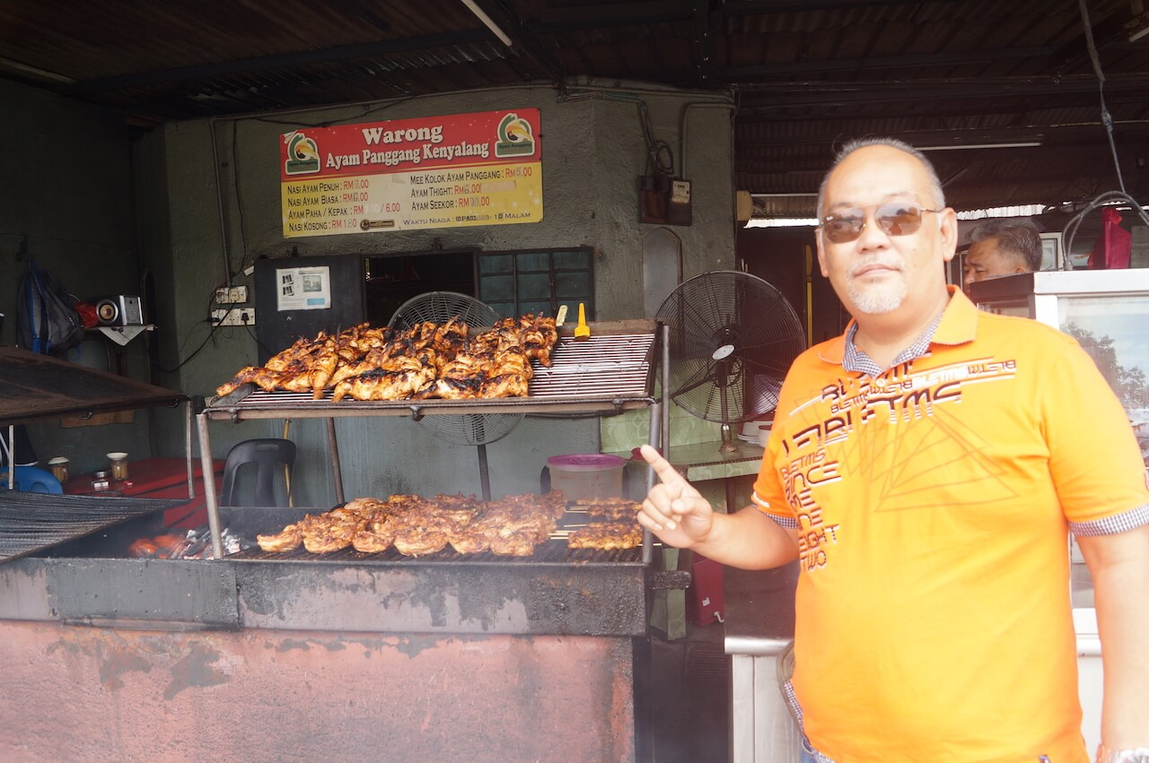 Have you tasted Ayam Panggang Kenyalang in Seremban?
