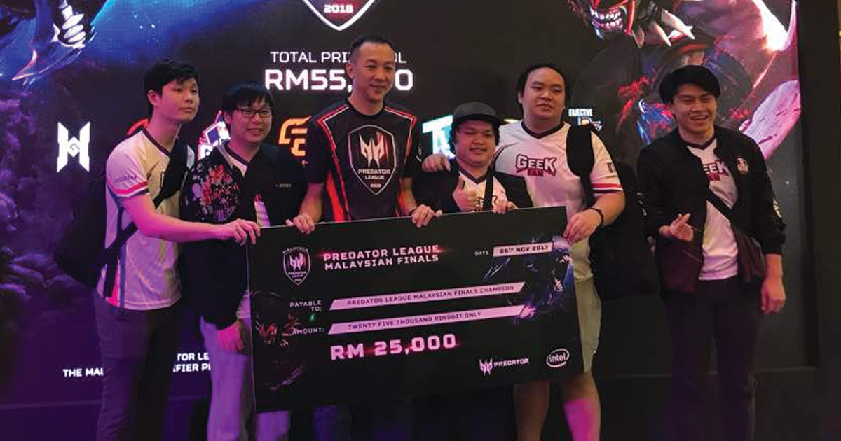 Geek Fam Emerges Malaysian Champ in the Asia Pacific Predator League 2018