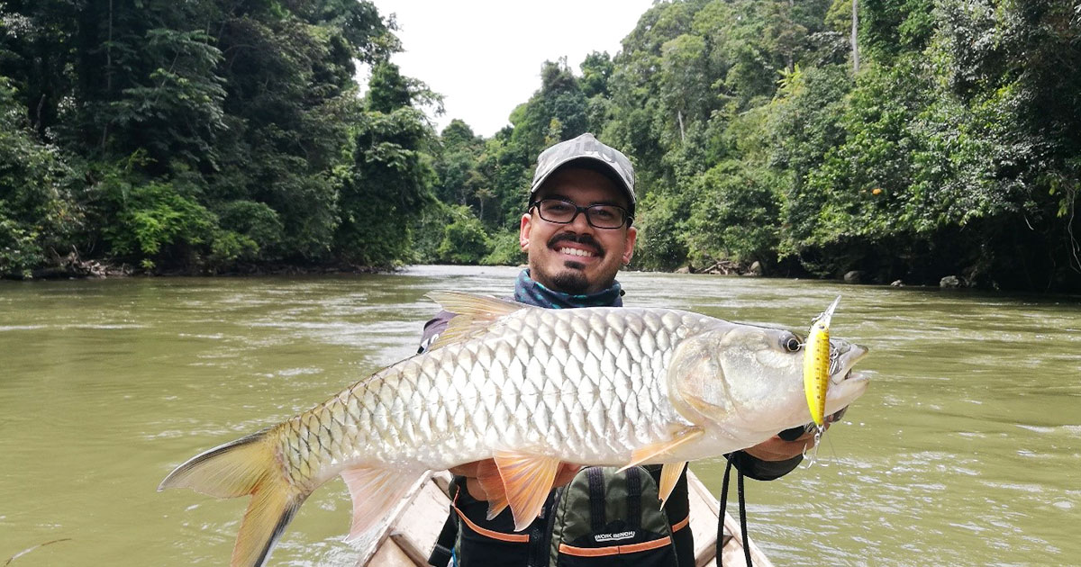 A fishing adventure in the remote jungles of Kalimantan