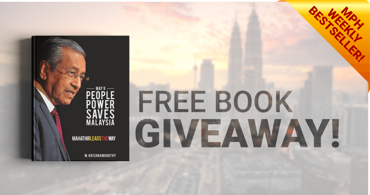 PEOPLE POWER SAVES MALAYSIA – FREE BOOK GIVEAWAY