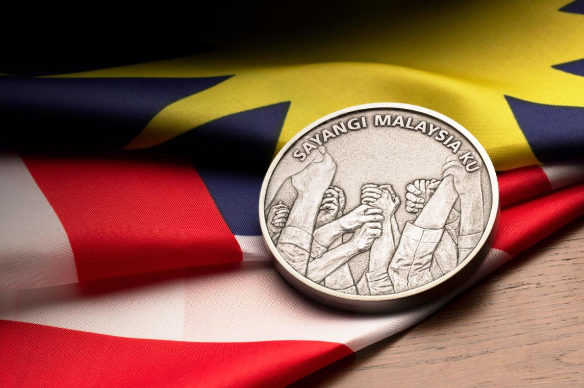 Malaysia Baru medallion to celebrate a historic day for Malaysia