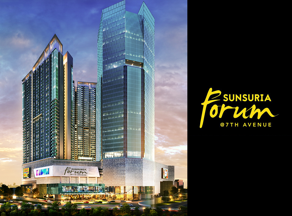 Yes! Sunsuria Forum is the new trendsetter in Setia Alam