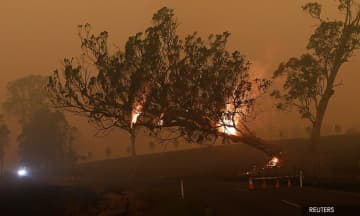 Australian authorities warn bushfire reprieve is just temporary