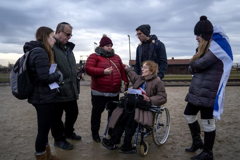 75 years after Auschwitz was liberated, she returned with her family for one last ritual