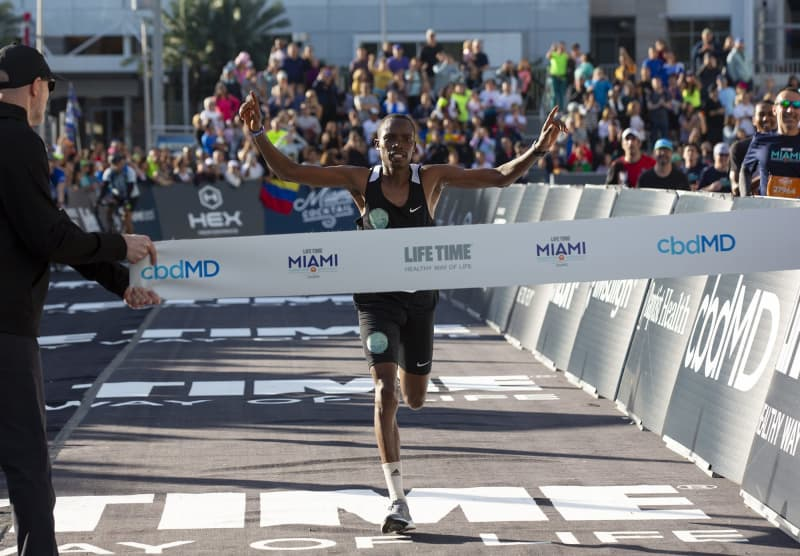 He lost leg in Afghanistan and attempted suicide twice, then became Miami Marathon champ