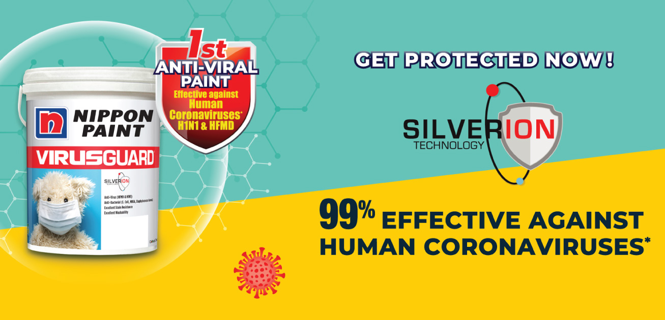 Nippon Paint unveils VirusGuard, which is 99% effective against human coronavirus