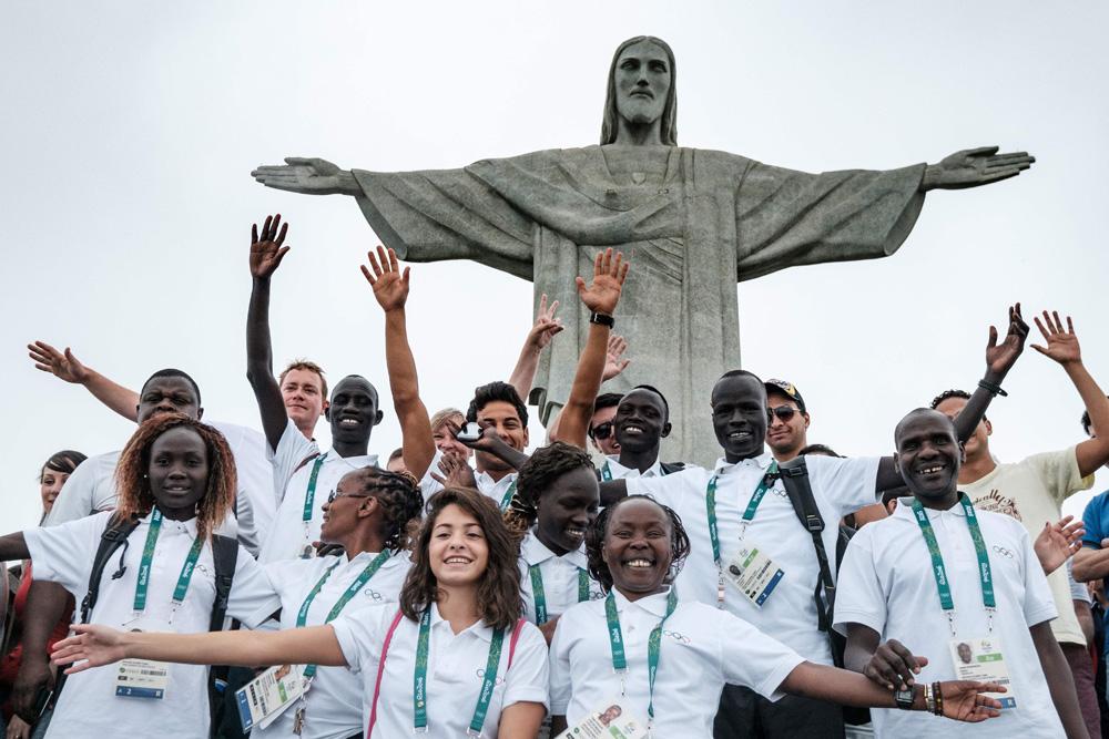 2016里约奥运:首支难民奥运队报到!