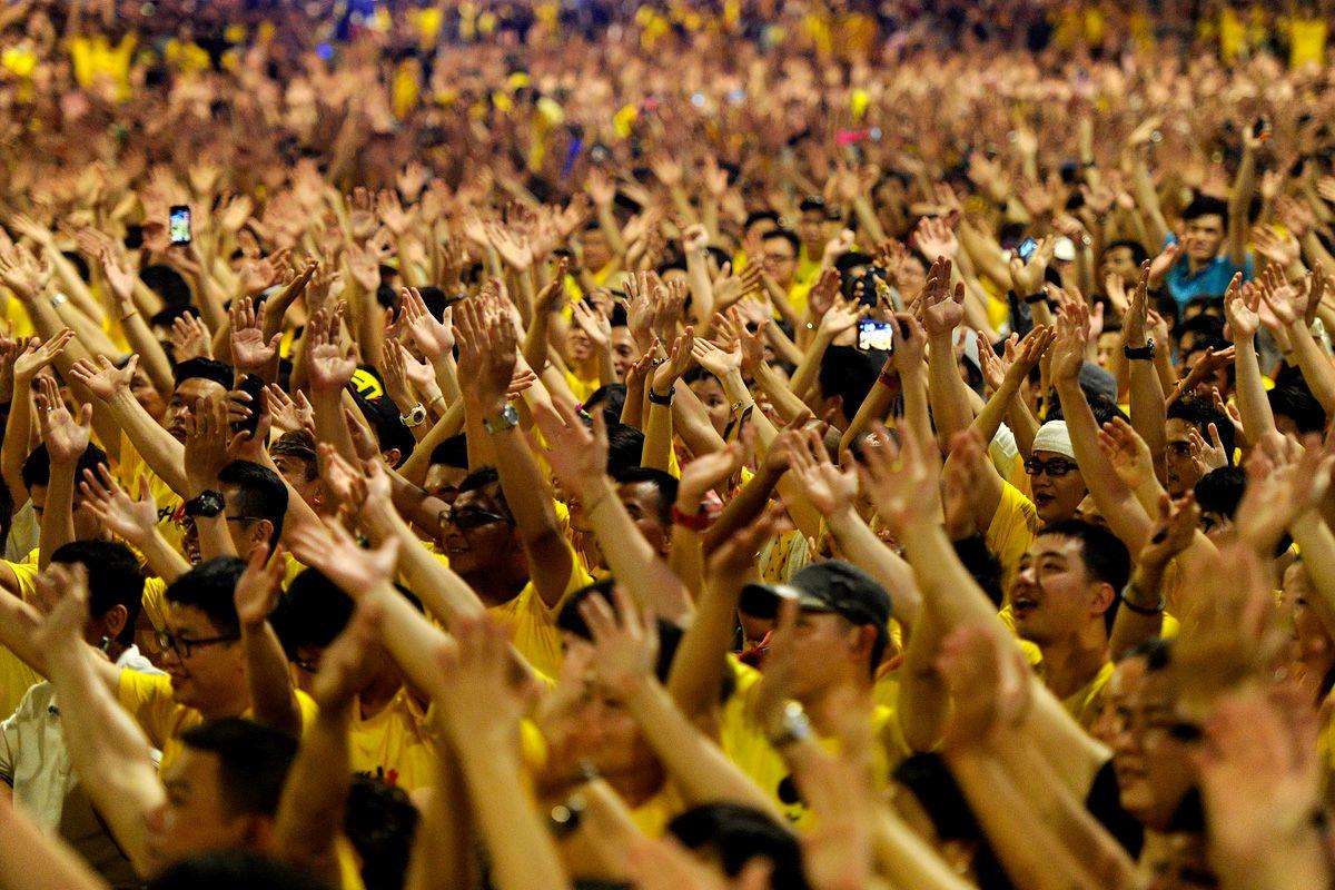 黄潮再起,Bersih 5要来了