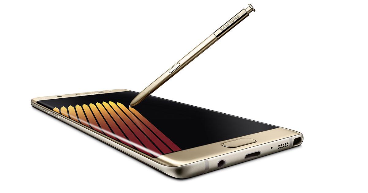 Samsung Note 7 外型、规格、虹膜辨识大提升,S Pen再加强