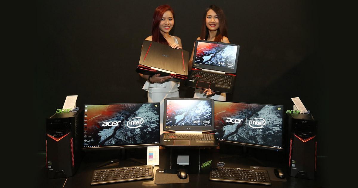 马来西亚Acer推介新电竞系列产品  让电竞玩家发挥最大潜能