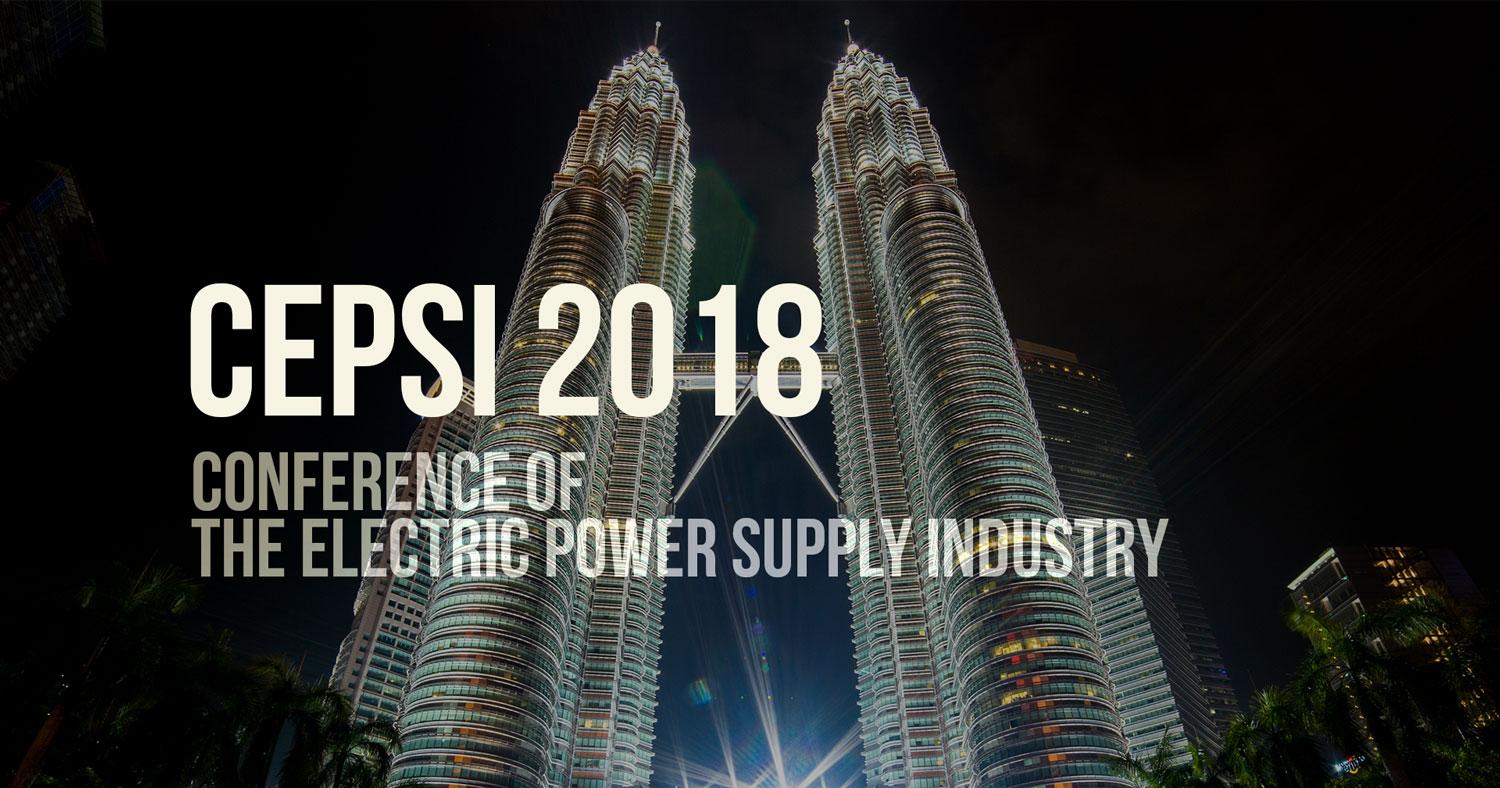 CEPSI 2018 – Conference of the Electric Power Supply Industry